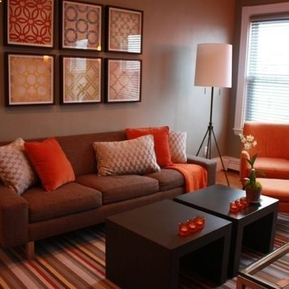 Living Room Decorating Ideas on a Budget - Living Room Brown And