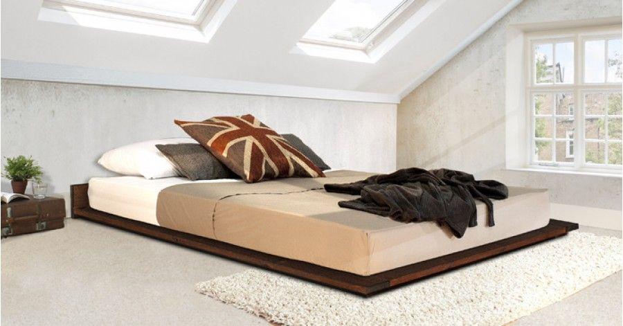 Low Modern Attic Bed | Mountain/Ski Home | Pinterest | Bed Frame