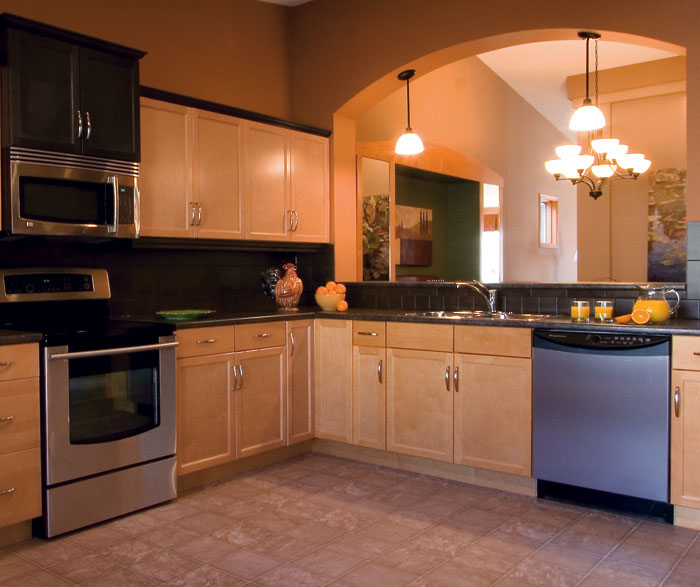 Light Maple Kitchen Cabinets - Kitchen Craft Cabinetry