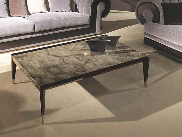 ORION | Marble coffee table By Turri