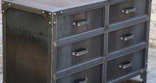 Metal dresser | Etsy