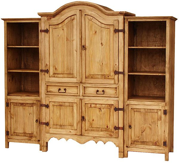 rustic entertainment centers | Rustic Furniture - Sierra Mexican