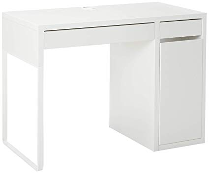 Amazon.com: IKEA 802.130.74 MICKE Desk, White: Kitchen & Dining