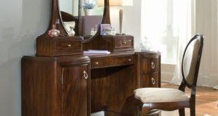 Round Mirror Dressing Table, Makeup desk, ड्रेसिंग टेबल