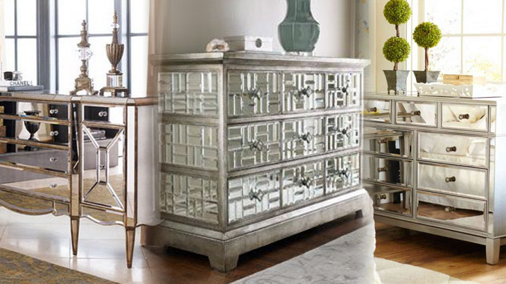 Mirrored Furniture u2013 Home Design Product | Bear Glass Blog