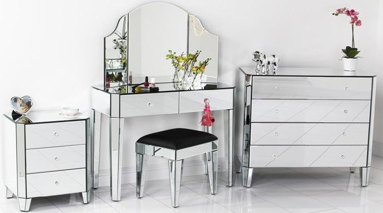 Mirrored Furniture | Mirror Furniture New York