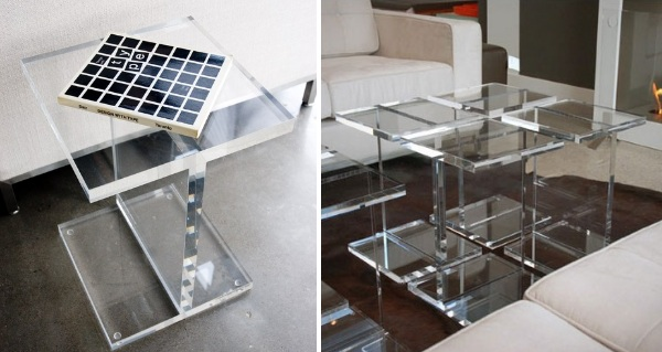 Gus-Modern-Acrylic-I-Beam-Table homesthetics | Homesthetics