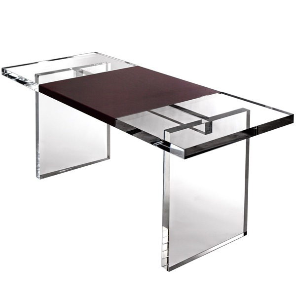 Furniture: Modern Acrylic Desk, Acrylic Furniture, Acrylic Interior