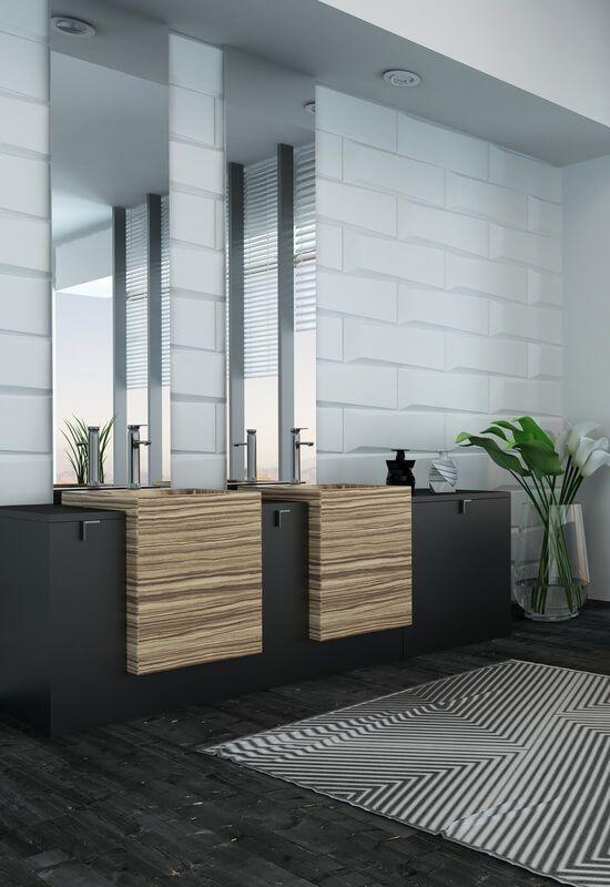 21 Beautiful Modern Bathroom Designs & Ideas   Home decor
