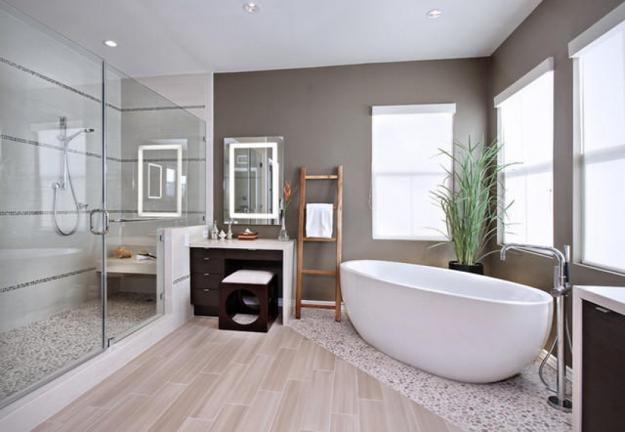 Modern Interior Design Trends in Bathroom Tiles, 25 Bathroom Design