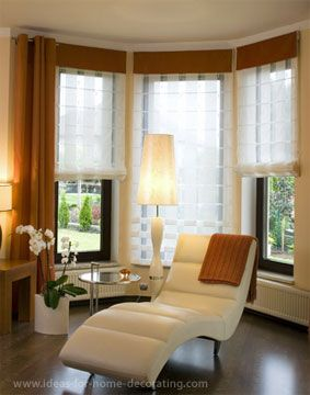 bay window treatment ideas | The simplest way to maintain your