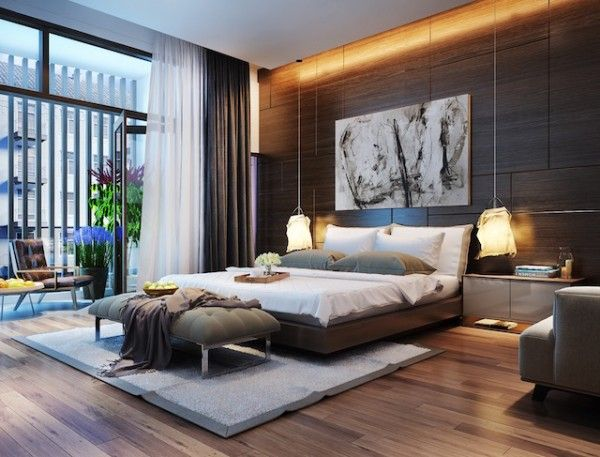 Bedroom Lighting Ideas u2013 Contemporary Mood | snazzy | Bedroom