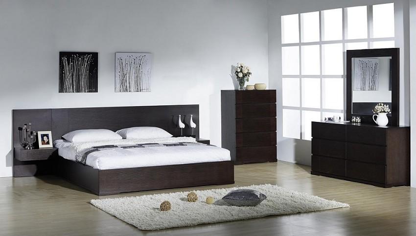 Emblem Modern Bedroom Sets   Contemporary Bedroom Sets