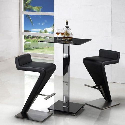 modern breakfast bar table bar stools shape images | Hubster