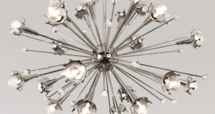 Sputnik Ceiling Light Fixture by Jonathan Adler | RA-711