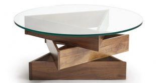 Copeland Furniture Twist Round Coffee Table - 2Modern