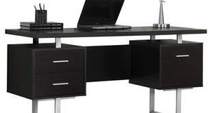 Modern Computer Desk - Black - EveryRoom : Target