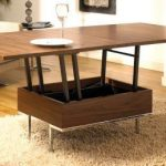 Modern Convertible Coffee Table Increases   Functionality