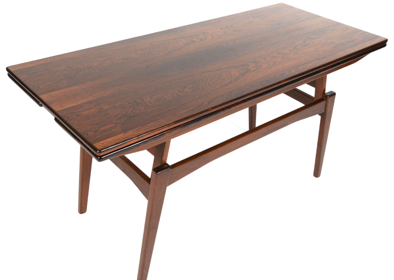 Danish Modern Convertible Coffee Table | Chairish