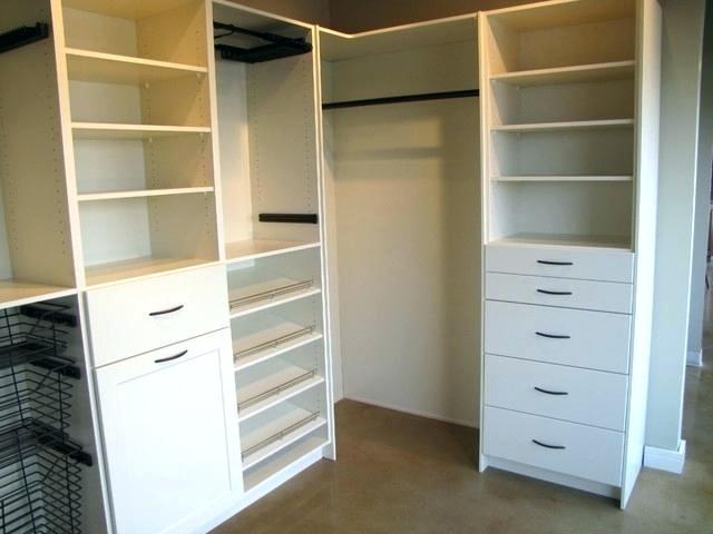 Build A Closet In A Corner Decorating Small Bedroom Big Closet