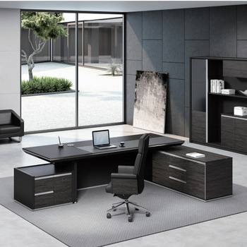Latest Modern Executive Desk Office Table Design For Boss - Buy