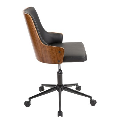 Stella Mid Century Modern Office Chair - Lumisource : Target