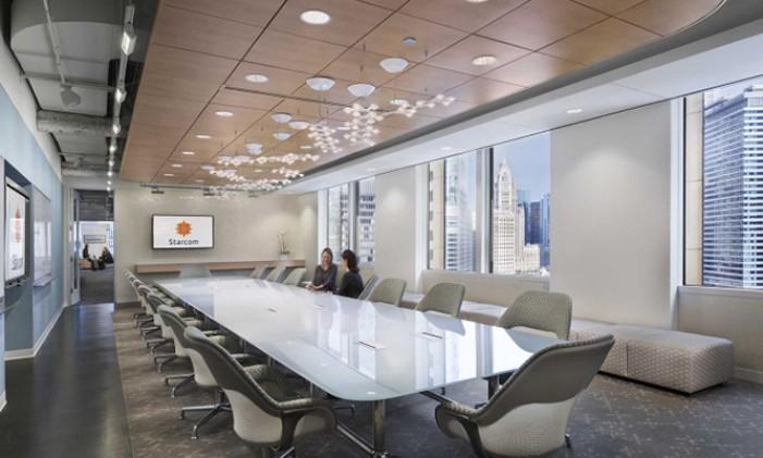 Modern Office Sleek Decor with Proper   Furniture
