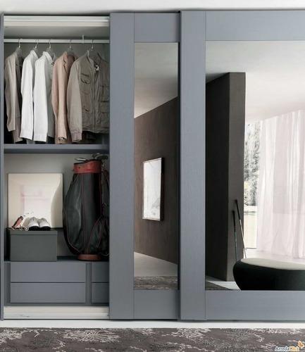 Sliding Doors Wardrobes Design, Wardrobe Designers - Bloom Interio