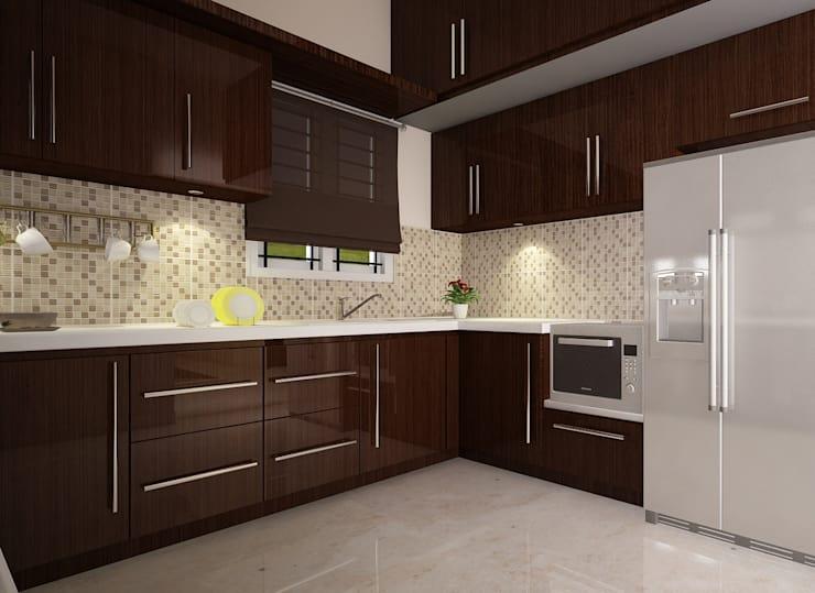 10 fantastic modular kitchen design by Mumbai architects