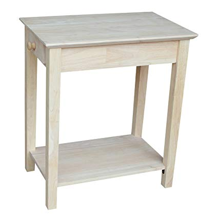 Amazon.com: International Concepts OT-2214 Narrow End Table