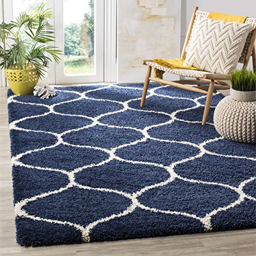 Navy and White Rugs: Amazon.com