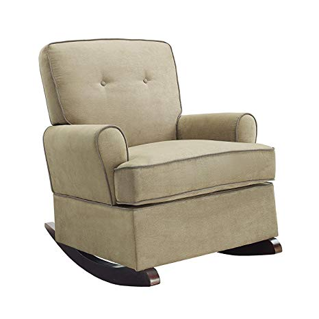 Amazon.com: Baby Relax The Tinsley Nursery Rocker Chair, Beige: Baby