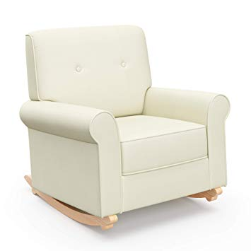 Amazon.com : Graco Harper Tufted Rocker, Oatmeal Cleanable