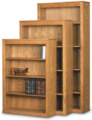 Contemporary Real Oak Bookcases