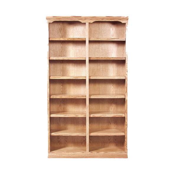 FD-6132T - Traditional Oak Bookcase 48