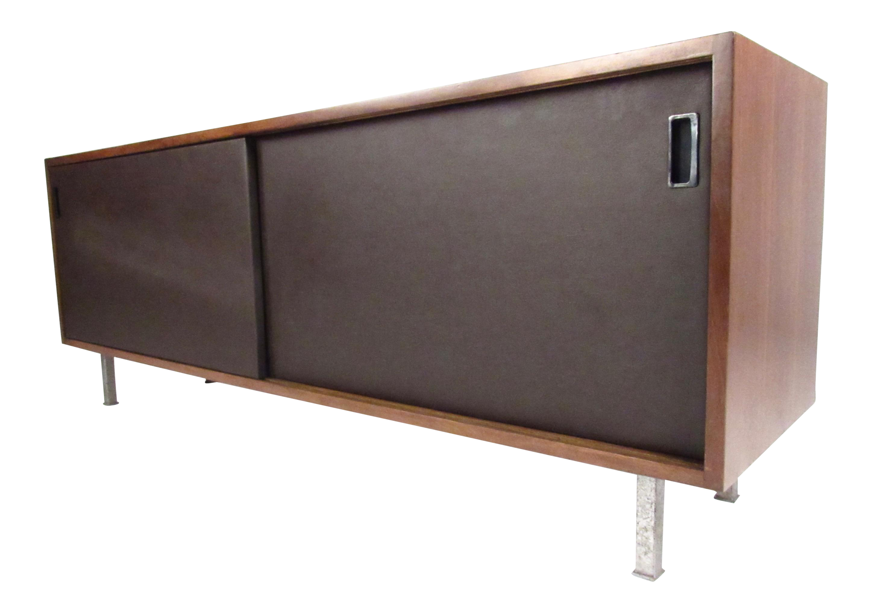 Florence Knoll Sliding Door Office Credenza | Chairish