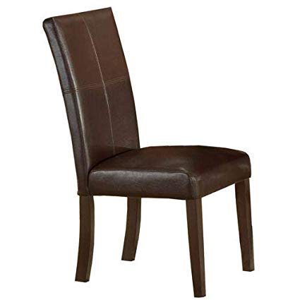 Amazon.com - Hillsdale Monaco Side Parson Chair, Matte Espresso, Set