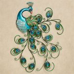 Peacock Wall Art for Splendid Home Decor