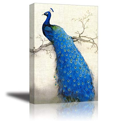 Amazon.com: Peacock Wall Art Decor for Living Room, PIY Beautiful