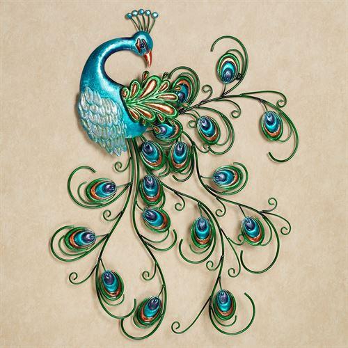 Peacock Wall Art for Splendid Home Decor