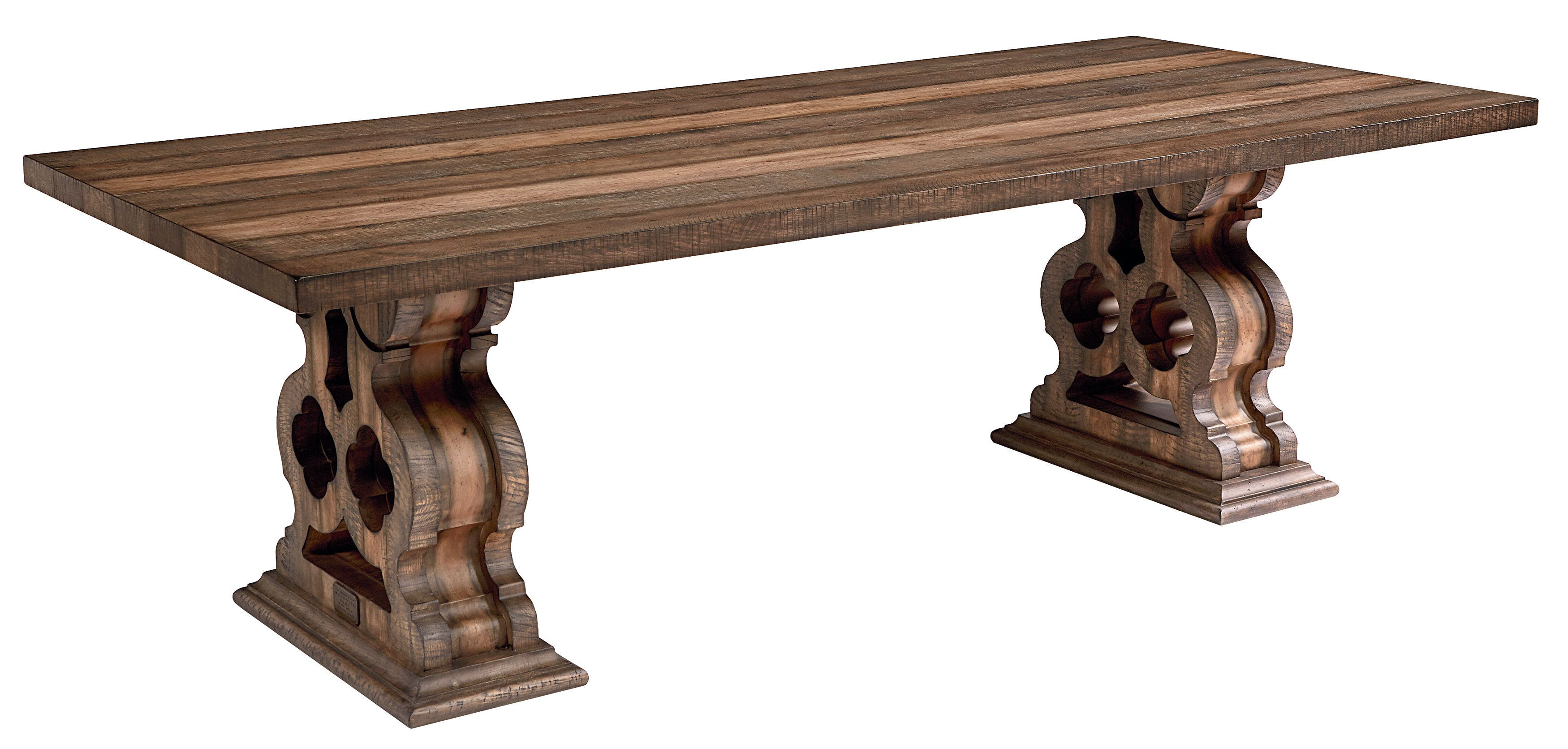 Dining Room Magnolia Home - Double Pedestal Dining Table