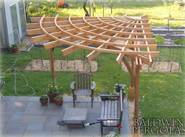 25 Beautifully Inspiring DIY Backyard Pergola Designs For Outdoor