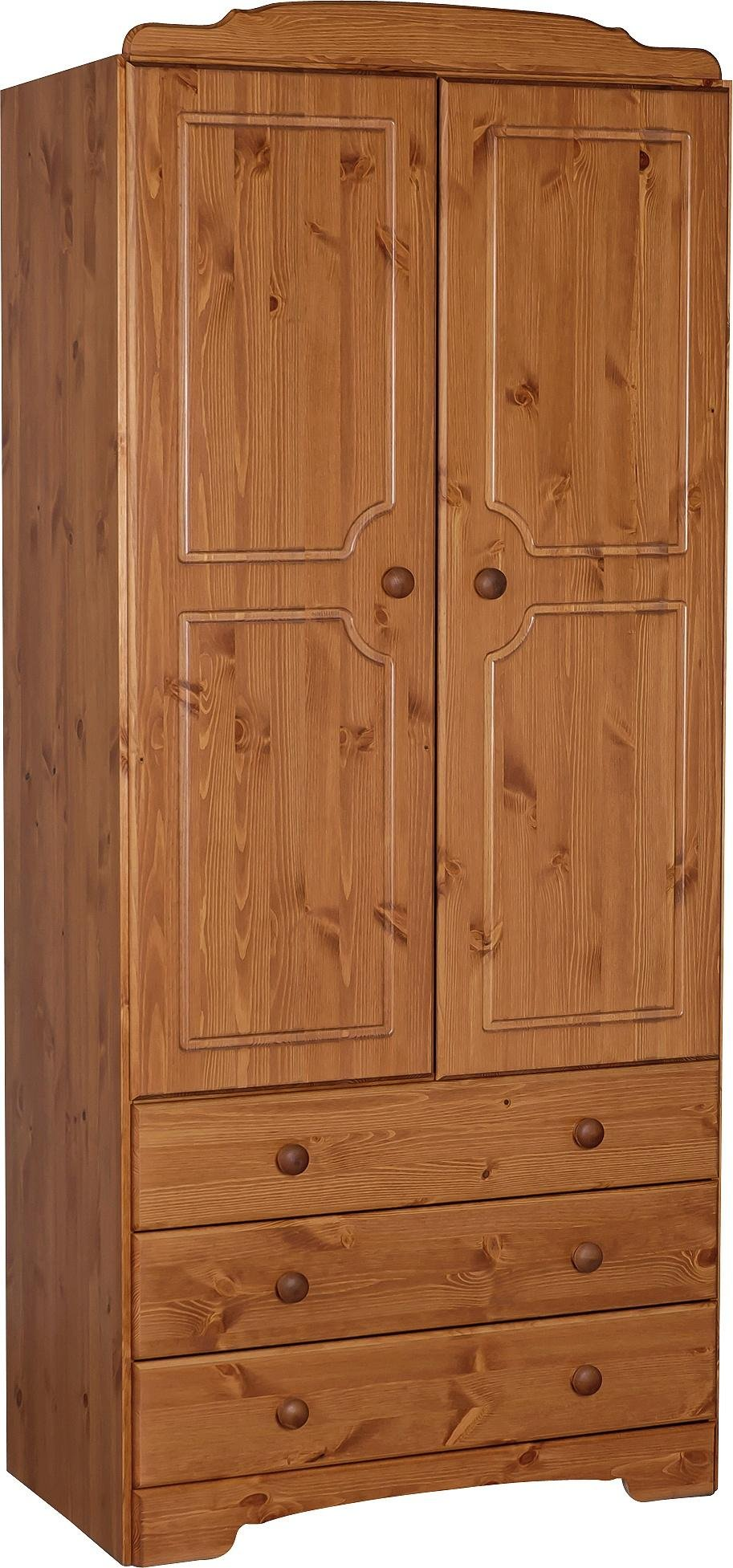 Buy Argos Home Nordic 2 Door 3 Drawer Wardrobe - Pine