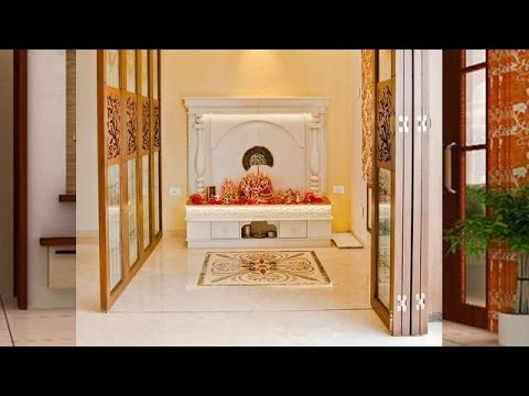 Latest Pooja Room Designs & IDEAS - YouTube