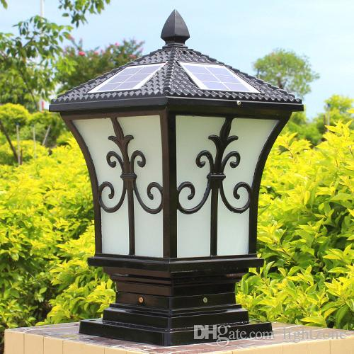 2019 Solar Post Lights Outdoor Post Lighting Landscaping Solar Led