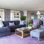 Purple Living Room Ideas for Trendy   Setting