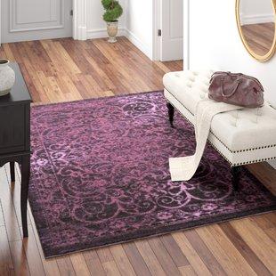 Plum Purple Area Rug | Wayfair