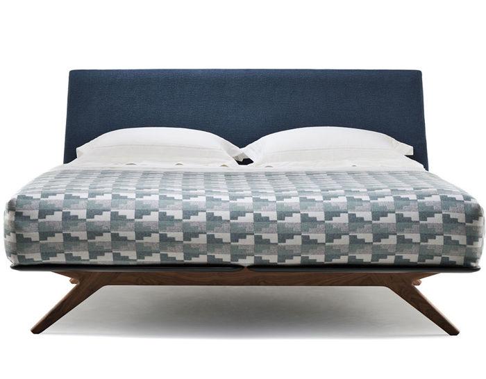 Hepburn Queen Size Bed 351aq - hivemodern.com