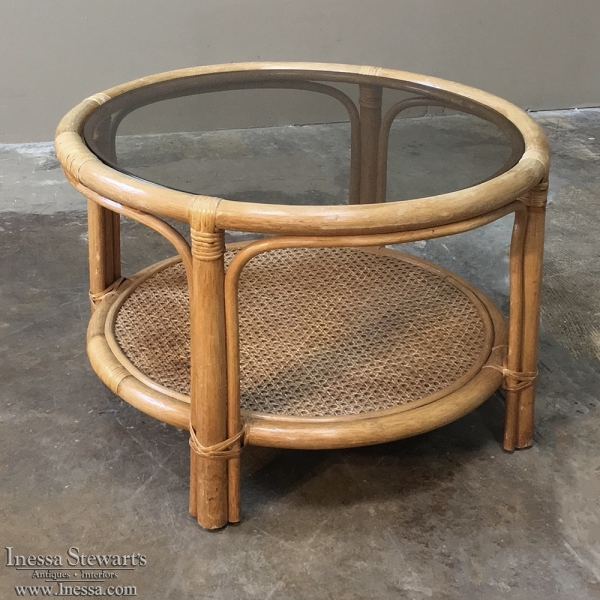 Rattan Coffee Table for Adding Texture to   Your Home