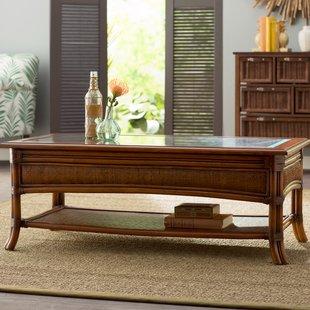 Woven Rattan Coffee Table | Wayfair
